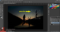 Place linked  place embed curs Adobe Photoshop CC