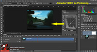 Movie Color Correction in Curs Adobe photoshop CC