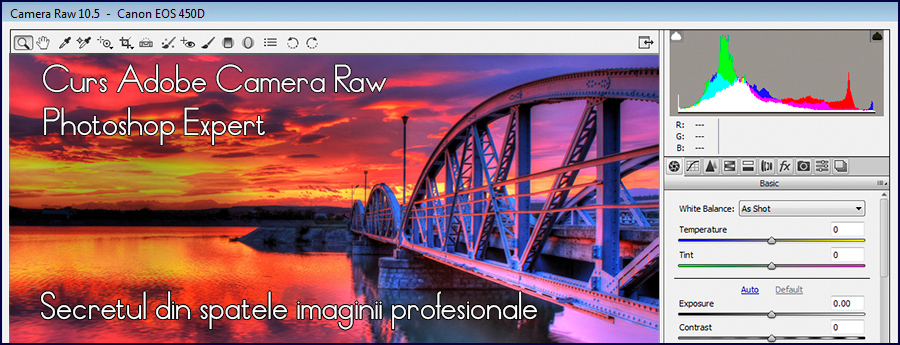 Curs Adobe Camera Raw Photoshop Expert