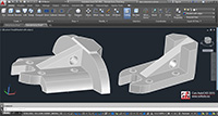 extrude faces curs autocad 2015