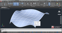 Curbe si suprafete de tip NURBS - Non Uniform Rational B-Spline