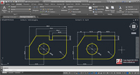 Cotarea in Autocad, dimension