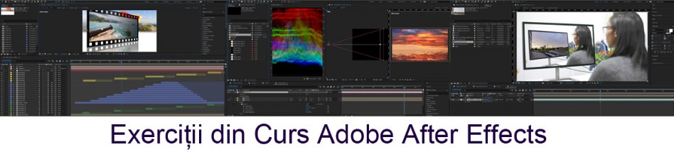 Exercitii din Curs Adobe After Effects