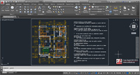 Multiline text Autocad